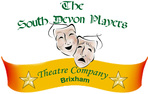 The South Devon Players theatre company logo - theatre, Brixham